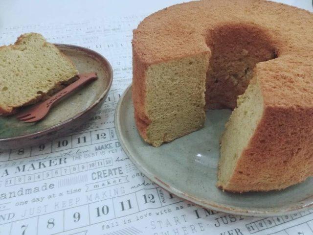NOM POPOKのモリンガシフォンケーキ