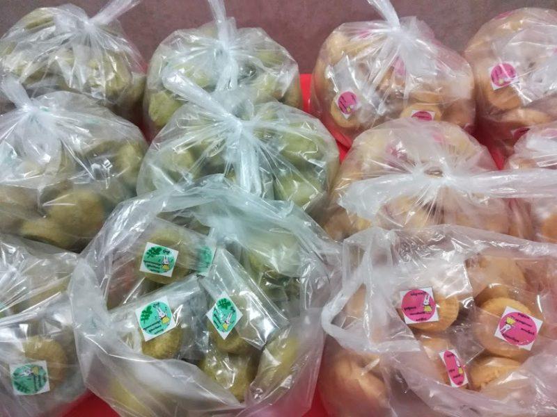 NOM POPOKの蒸しパンが、国立小児病院の給食に入ります
