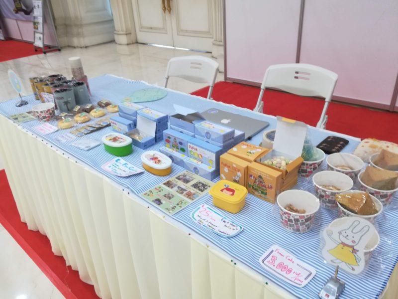 NOM POPOK 全国栄養の日のイベント参加