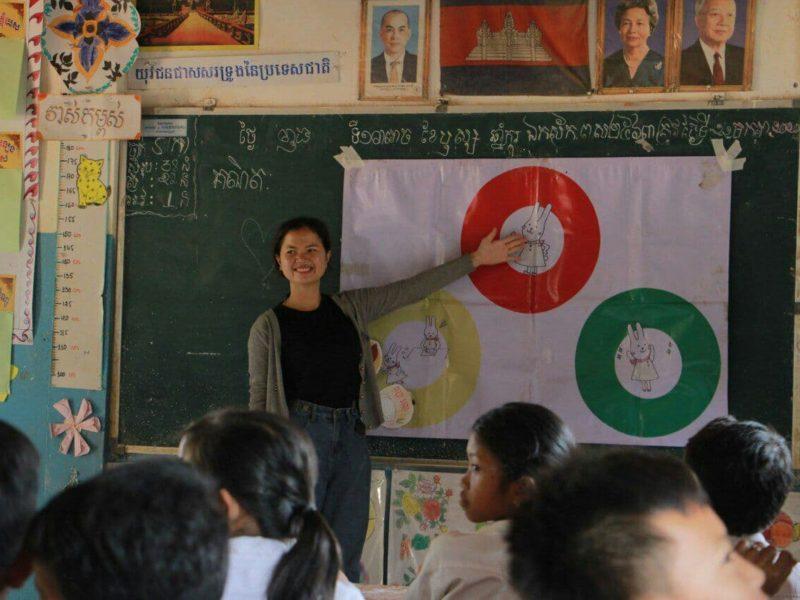 カンボジアで栄養教育