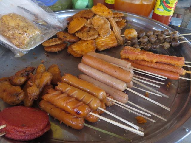 カンボジア売店のお菓子